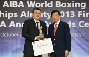 Korchynsky Best Coach of 2013 Copyright: World Series of Boxing